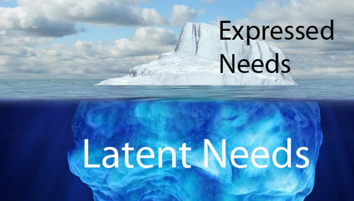 expressed-vs-latent-needs