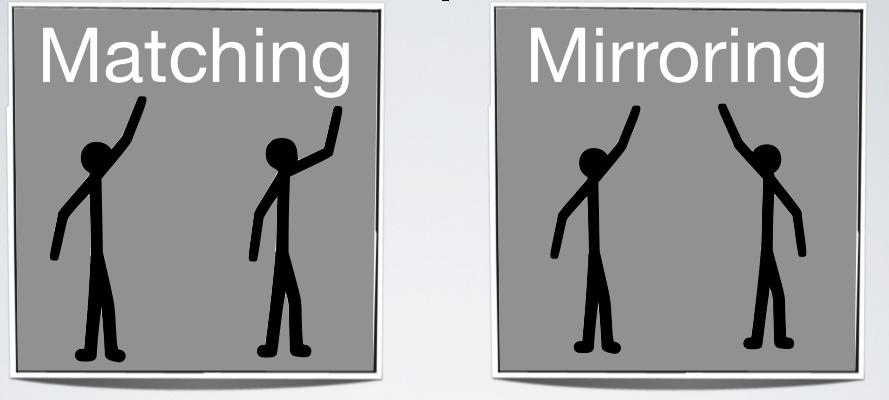 matching-mirroring