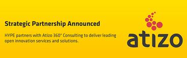 HYPE Enters Into Strategic Partnership with Atizo 360°