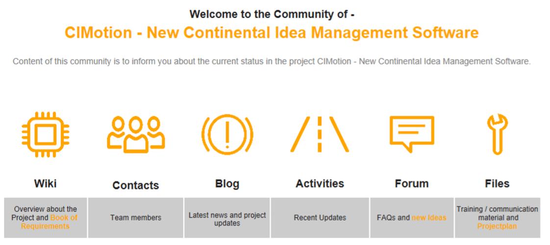 CIMotion - Visionäres Ideenmanagement bei Continental