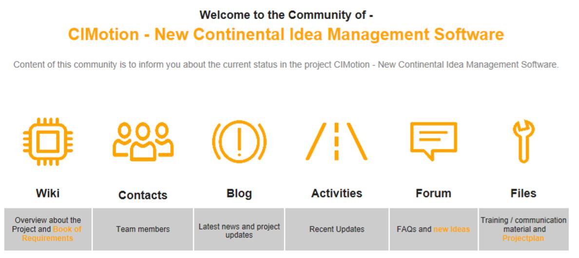CIMotion_Community