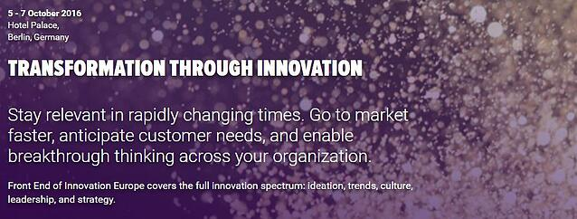 HYPE Innovation at FEI Europe - 5th to 7th October 2016
