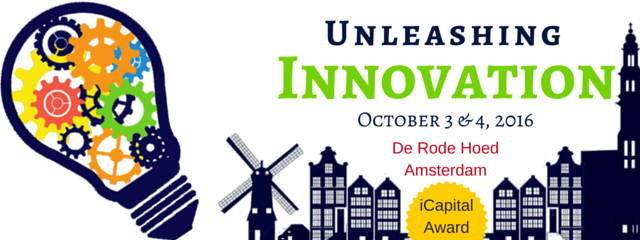 Meet HYPE at Unleashing Innovation in Amsterdam - 3+4th October 2016