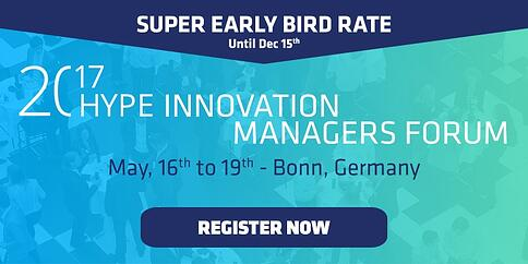 Annual Innovation Managers Forum in Bonn - May, 16th -19th 2017