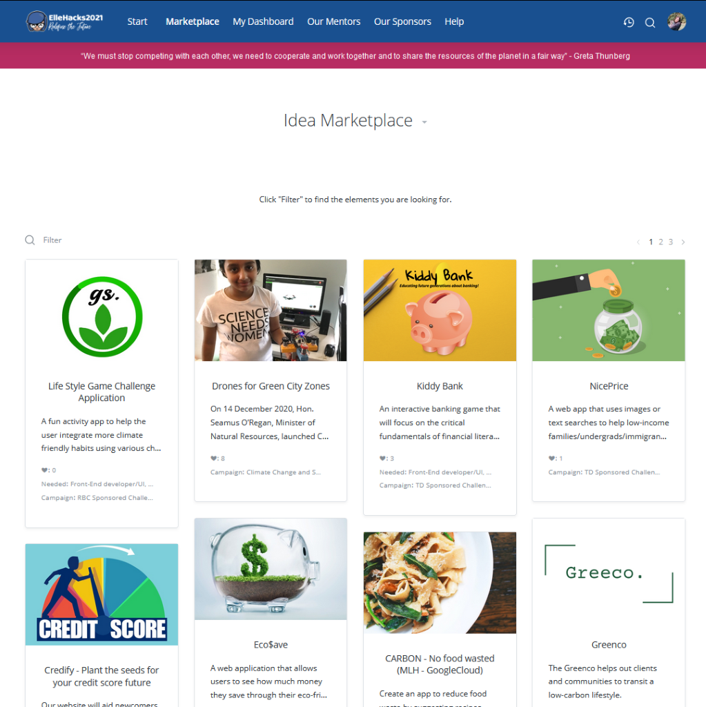 ellehacks-idea-marketplace