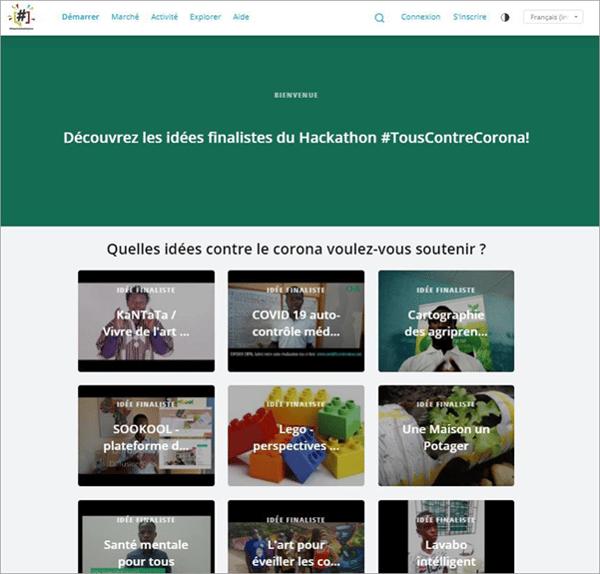 Hackathon zur Corona Krise in Togo
