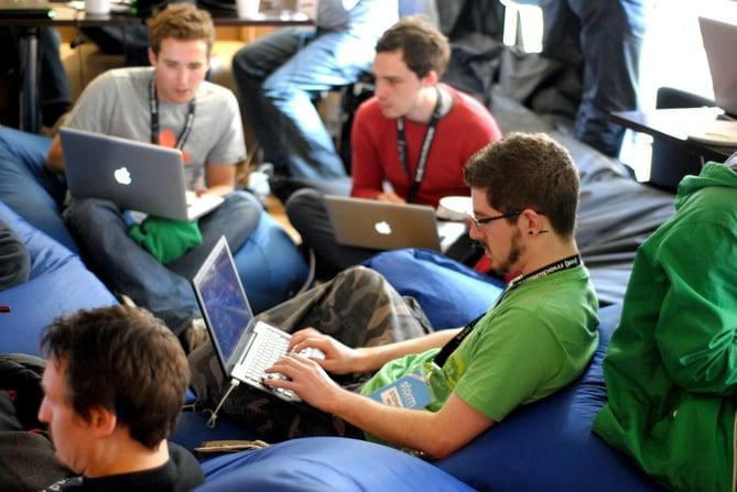 group-laptop-working-hackathon