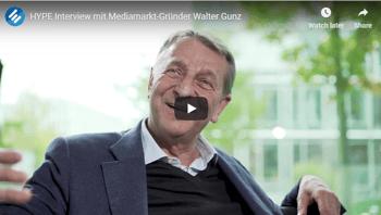 Interview Mediamarkt-Gründer Walter Gunz