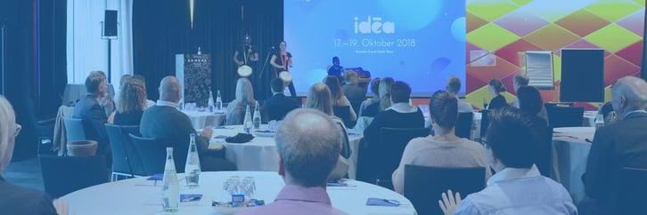 idēa 2018: Erstes großes Ideenmanagement-Forum von HYPE –neues Herbst-Highlight für Ideenmanager
