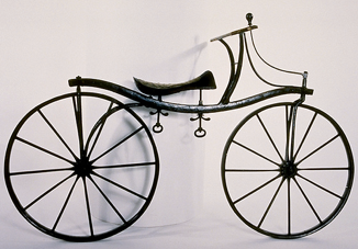 A drais bicycle