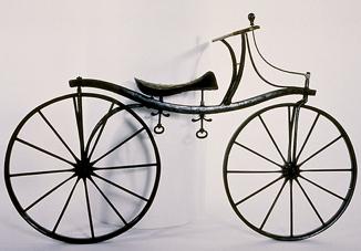 A drais bicycle