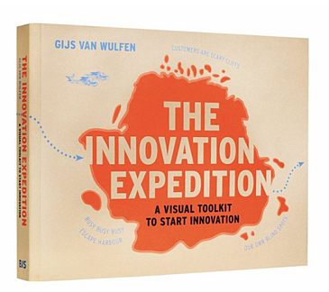 Cover of the innovation expedition book