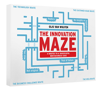 Cover of the innovation maze book