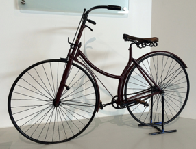 A starley rover bicycle