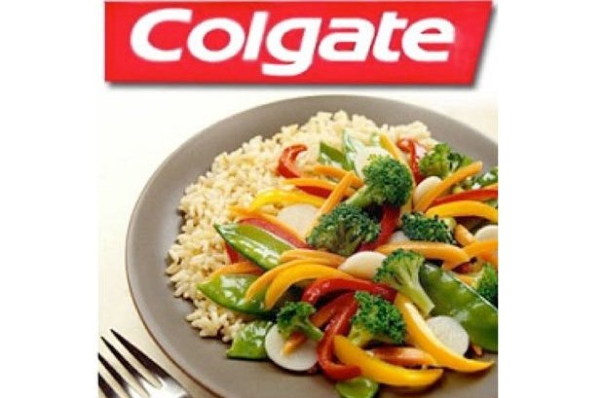 image of food from colgate