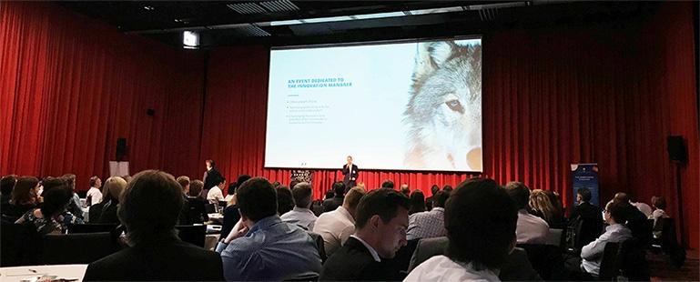 Michel Meisterjahn opening INNOVATE 2018 Bonn
