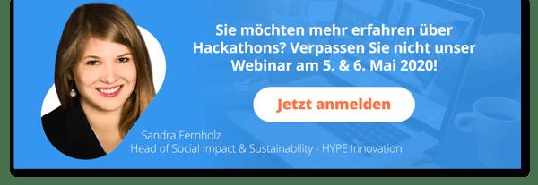 Einladung zum Hackathon Webinar