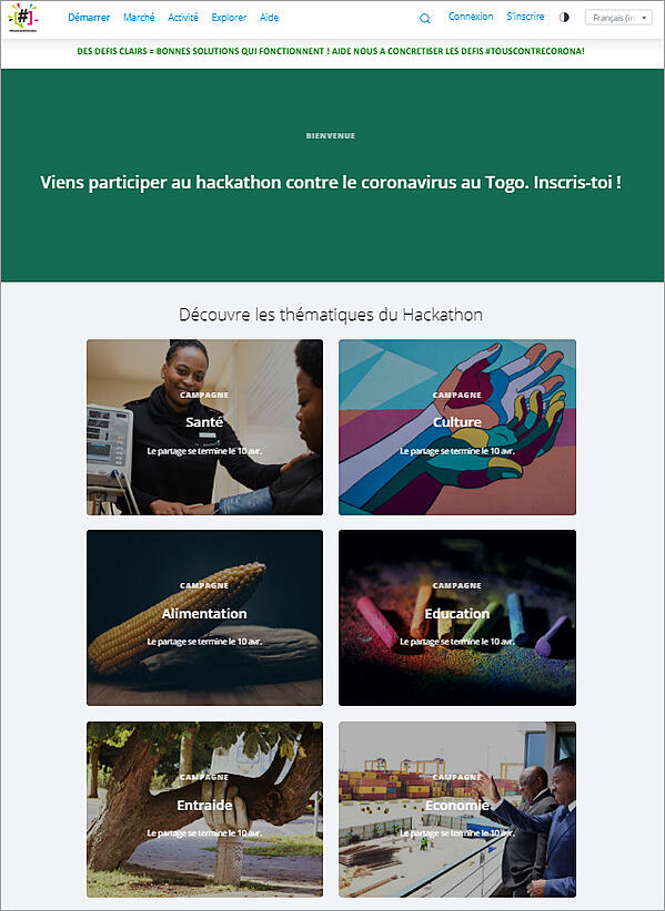 platform-HYPE-togo-hackathon